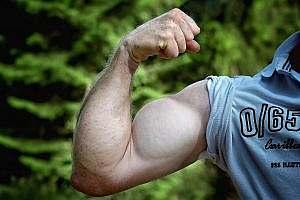 Muskelzunahme durch Quellwasser trinken